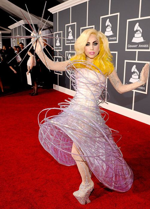 The Most Famous Lady Gaga's Outfits of 2010 (50 pics)