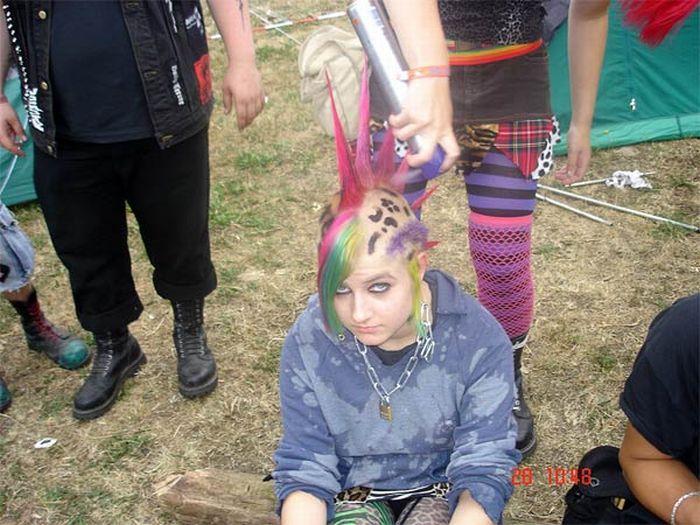Punk Girls. Part 2 (93 pics)