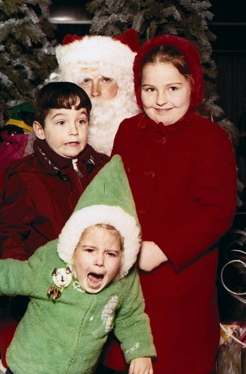 Children Afraid of Santa (13 pics)