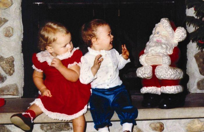 Children Afraid of Santa (13 pics)