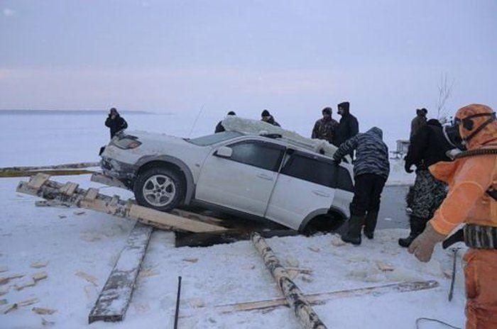 Sunken Car (18 pics)