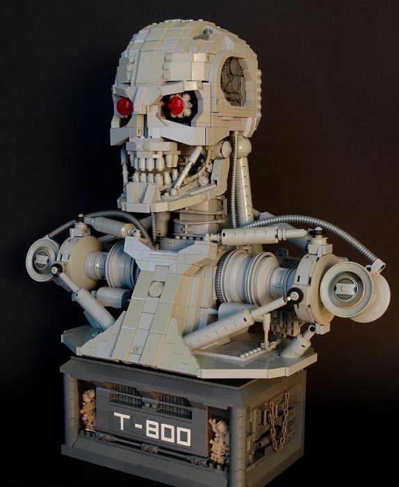 Lego Terminator T-800 (5 pics)