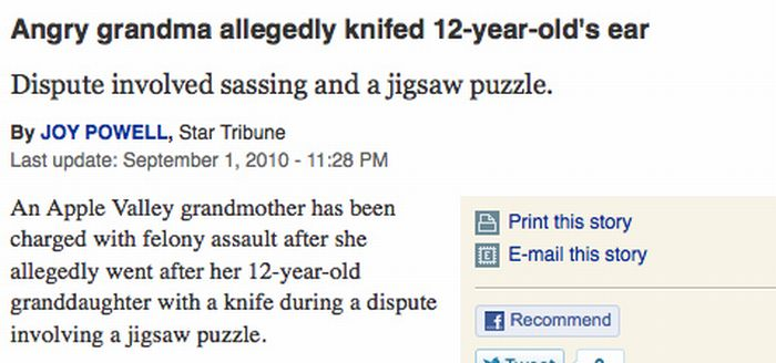 The Funniest Headlines Of 2010 (50 pics)