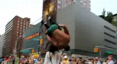 Incredible NYC Street Acrobats