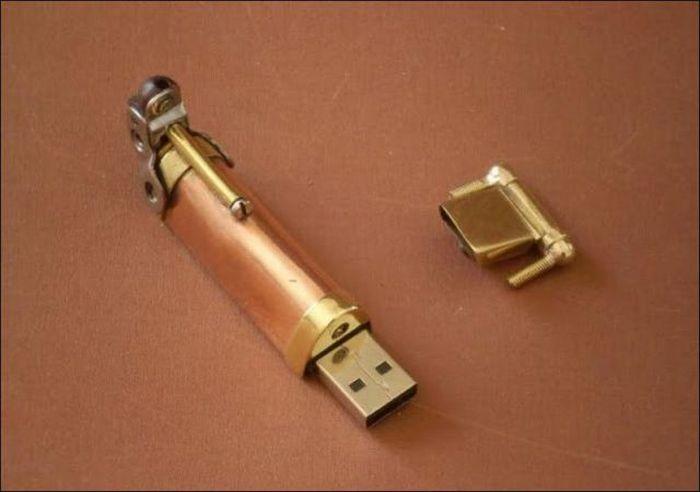 Steampunk Pen (10 pics)