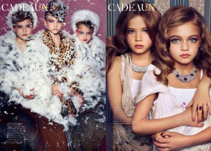 Children Models for Vogue Paris (7 pics)