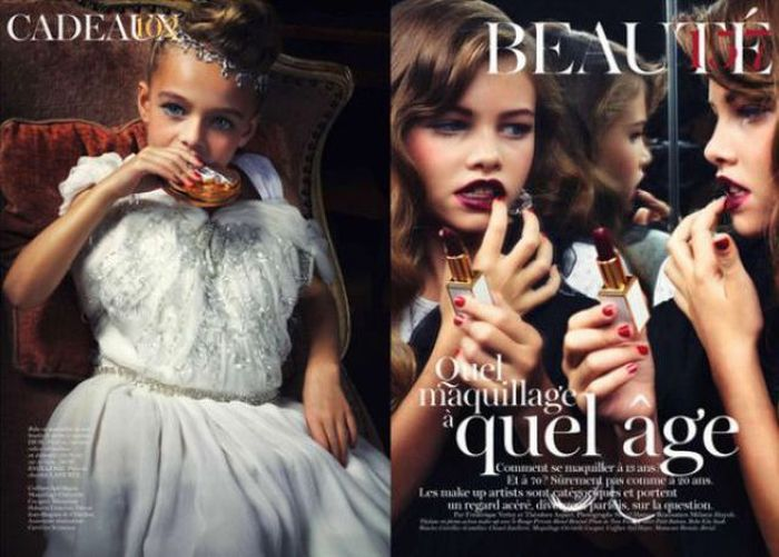 Children Models for Vogue Paris (7 pics)
