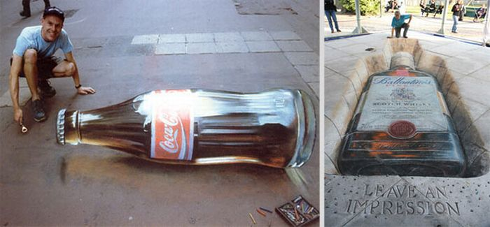20 Cool And Creative Street Ads (27 pics)