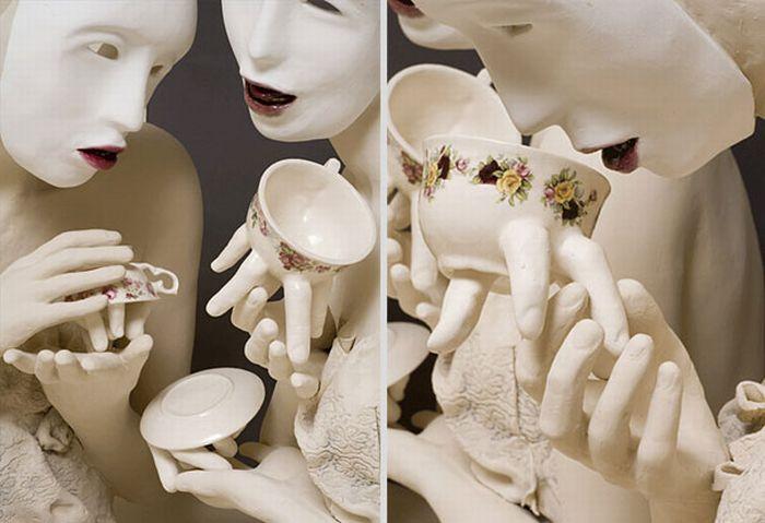 Creepy Tableware by Ronit Baranga (15 pics)