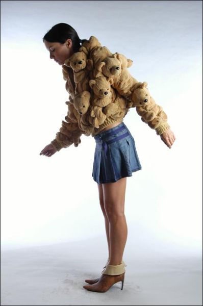Teddy Bear Jacket (6 pics)