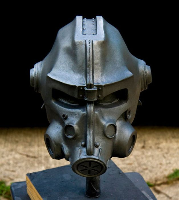 How to Reproduce Fallout 3 Helmet (49 pics)