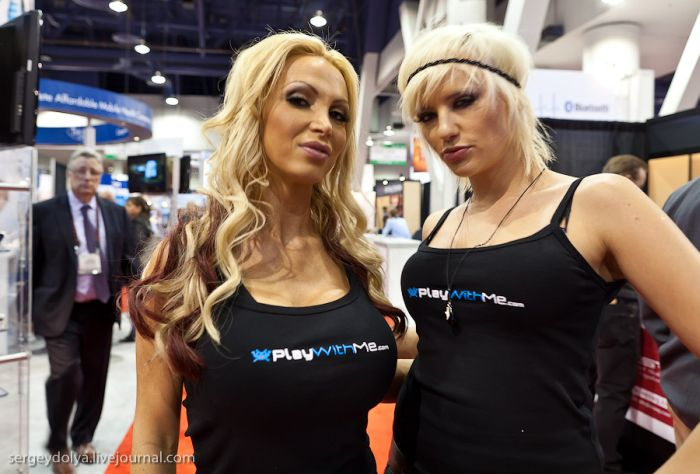 Girls of CES (21 pics)