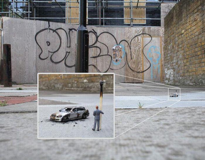 Little People – a Tiny Street Art Project (42 pics)