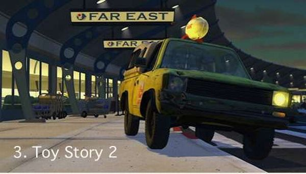 Pixar Pizza Planet truck loves to make cameos (10 pics)