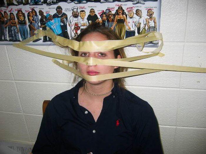 Funny Tape Face Photos (42 pics)