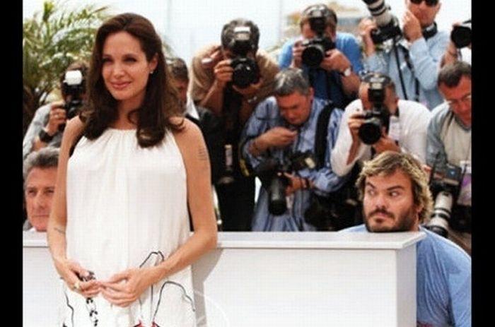 Celebrity Photobombs. Part 2 (24 pics)
