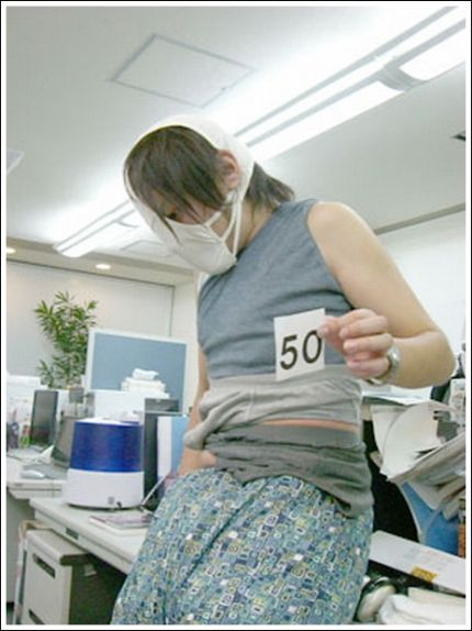 100 Pairs of Underpants (9 pics)