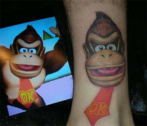 Video Game Tattoos (34 pics)