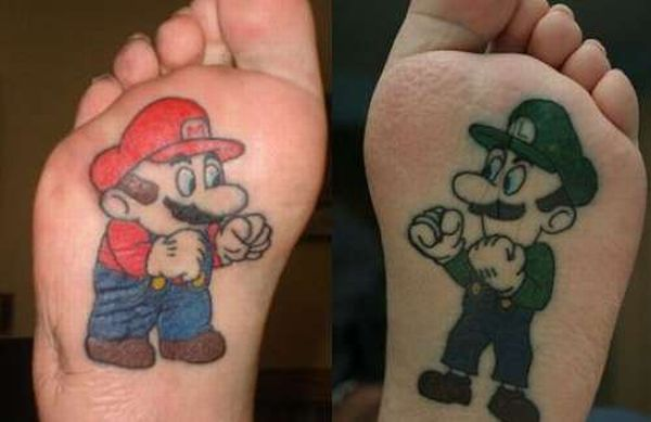 Video Game Tattoos (34 pics)