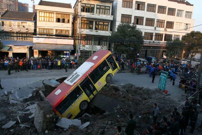 Ground Collapse (5 pics)