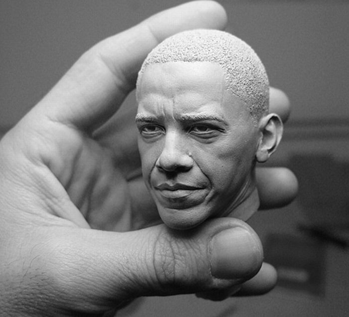Sculptures by Adam Beane (54 pics)