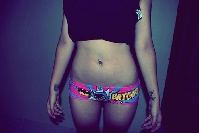 Hot Girls in Nerd Panties (36 pics)
