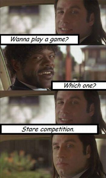 Wanna Play a Game? (3 pics)