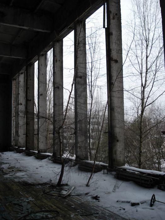 Chernobyl in Winter (30 pics)