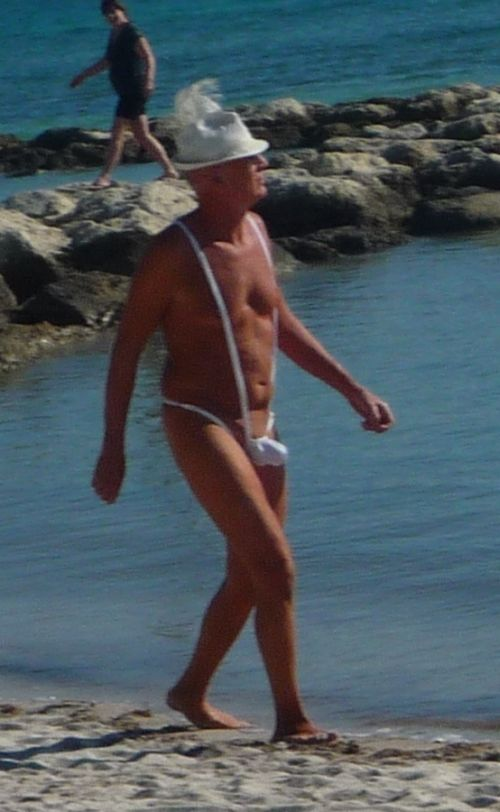Senior Citizen's Bathing Suite (2 pics)