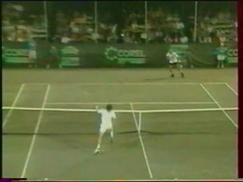 Amazing Tennis Moment