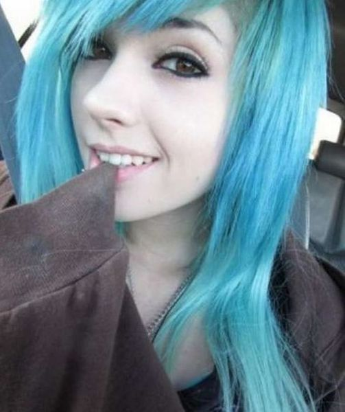Girls With Colored Hair 25 Pics-2613