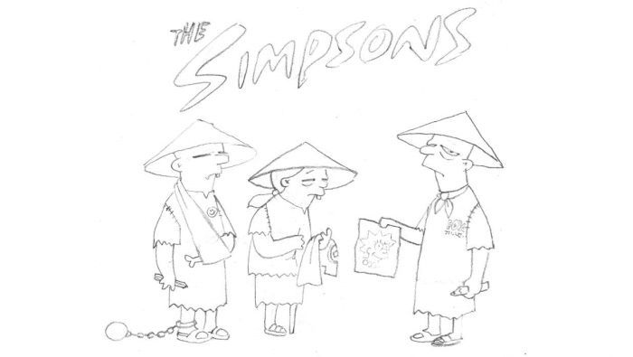 How The Simpsons Are Made (21 pics)
