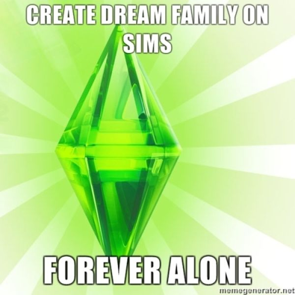 The Coolest Sims Meme (50 pics)