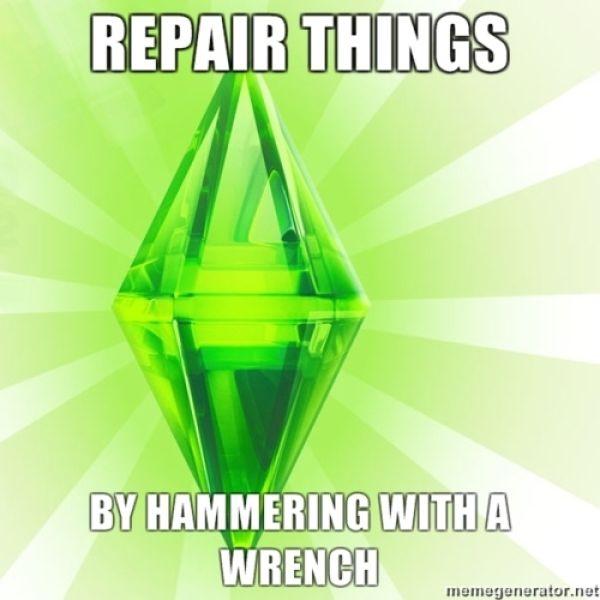 The Coolest Sims Meme (50 pics)