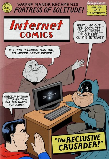 Batman Vs. The Internet (5 pics)