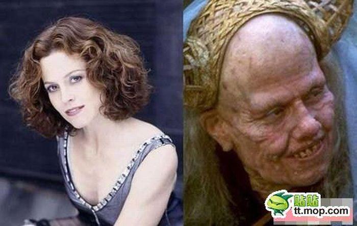 Scary Movie Make-Ups (15 pics)