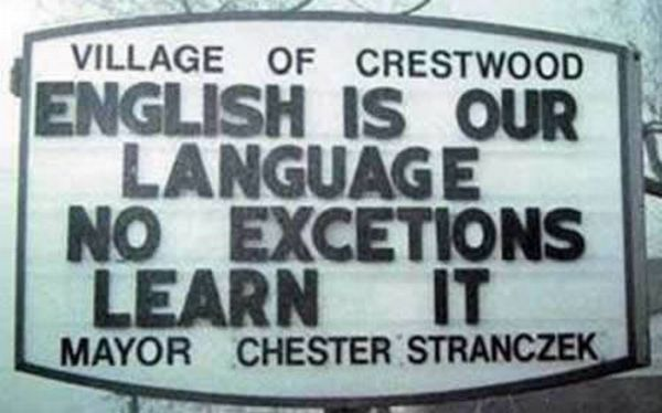 Billboard Spelling Fails (14 pics)