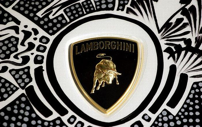 Cop Stops Lamborghini Prestige (16 pics)