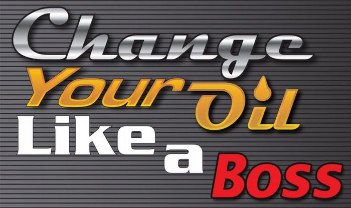 Change Your Oil Like a Boss (infographic)