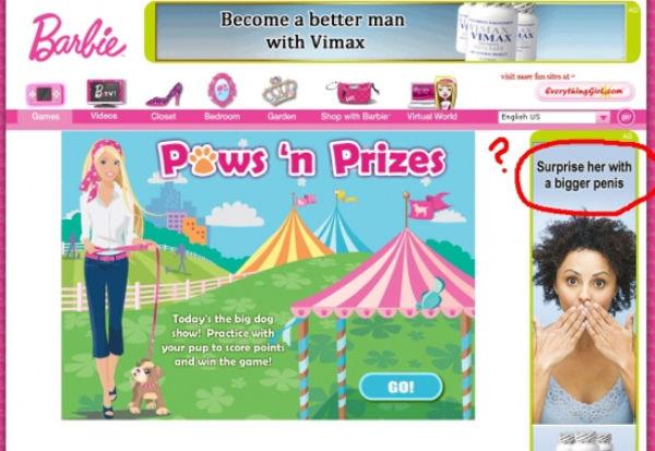 Advertisement Placement Fails (100 pics)