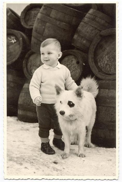Retro Photos of People with Dogs (21 pics)