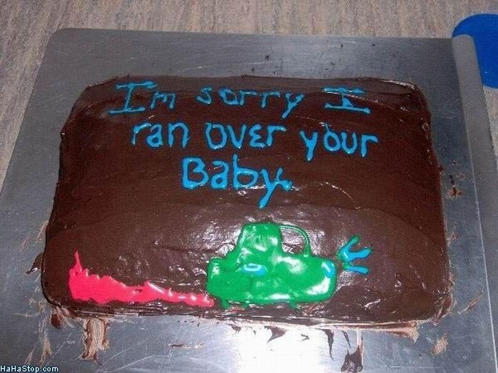 Cakes That Are Sorry (20 pics)