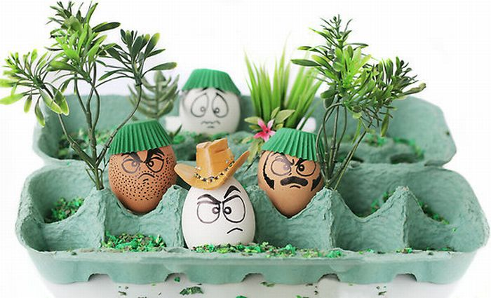 Food and Egg Art (55 pics)