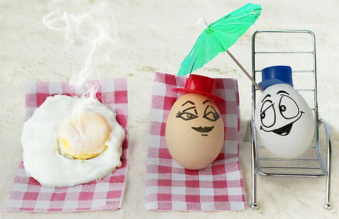 Food and Egg Art (55 pics)