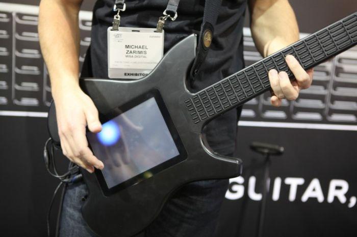 The Kitara guitar (25 pics + video)