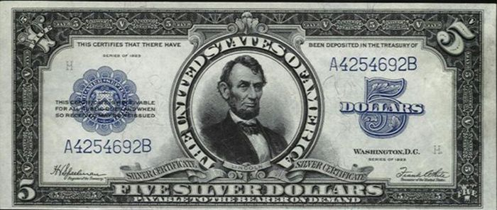 Very Rare Old Us Dollar Bills 22 Pics