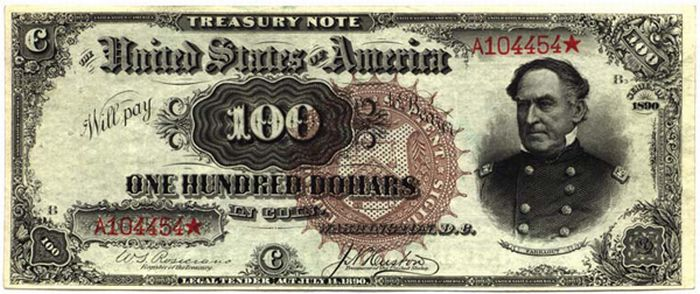 Very Rare Old US Dollar Bills (22 pics)