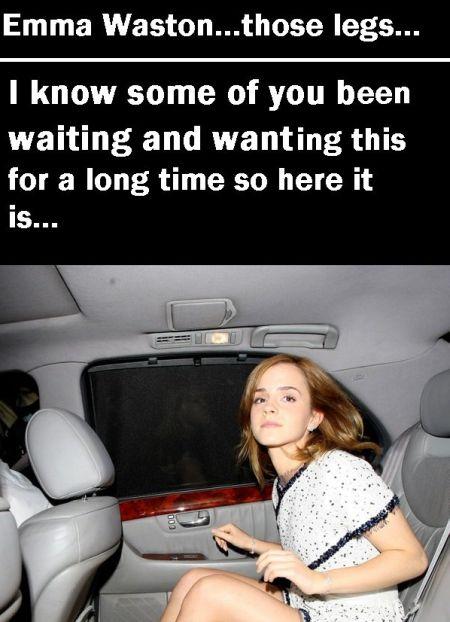 Emma Watson Got Beautiful Legs (5 pics)