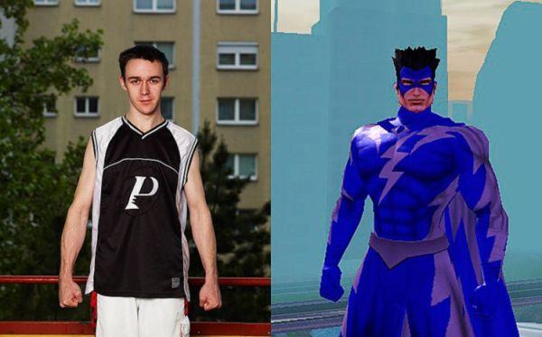 Real Faces vs. Game Avatars (15 pics)