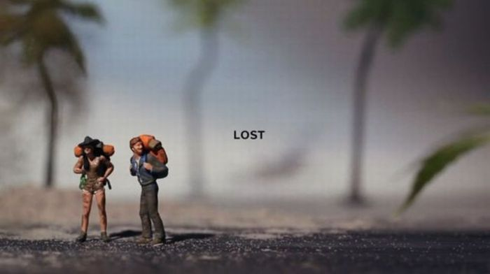 Some of Our Favorite TV Series in Miniature (17 pics + video)